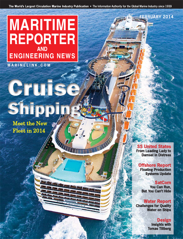 Maritime Reporter February 2014
